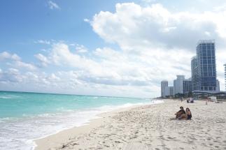 some Miami beach